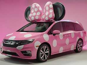 Em parceria com a Disney, Honda cria sua ''Minnie van''