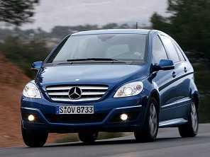 Dúvida envolvendo o Mercedes-Benz Classe B