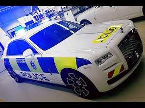 Rolls-Royce ganha versão... policial!