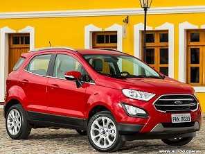 Ford EcoSport brasileiro com tração integral fica para 2018