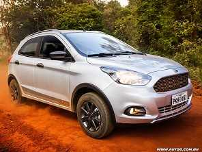 Teste: Ford Ka Trail 1.0