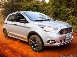 Carro robusto até R$ 50.000 para rodar em estradas de terra