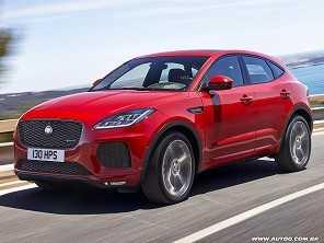 Segundo SUV da Jaguar, E-Pace custará a partir de R$ 222,3 mil
