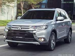 Mitsubishi Outlander ganha opção 7 lugares com motor 2.0