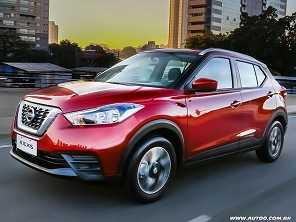 Nissan Kicks nacional estreia versão S CVT
