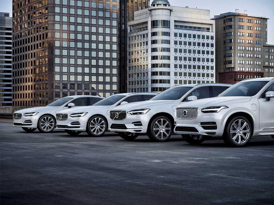 Toda gama Volvo será composta somente por modelos eletrificados a partir de 2019