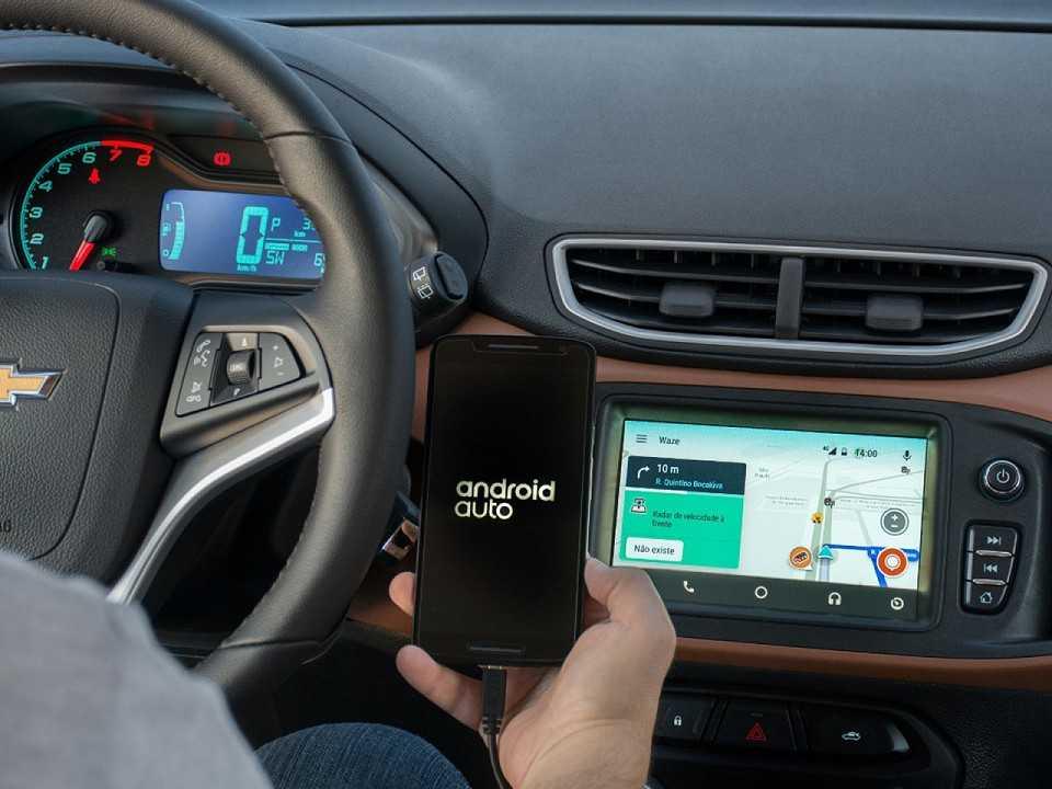 ChevroletOnix 2018 - console central