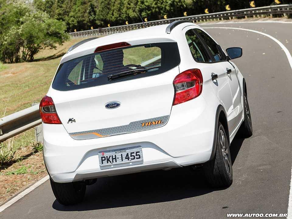 FordKa 2018 - ângulo traseiro