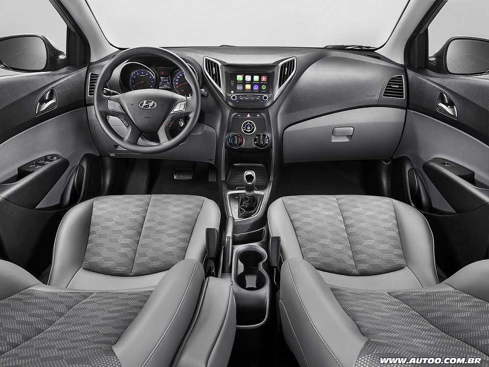 HyundaiHB20S 2018 - painel
