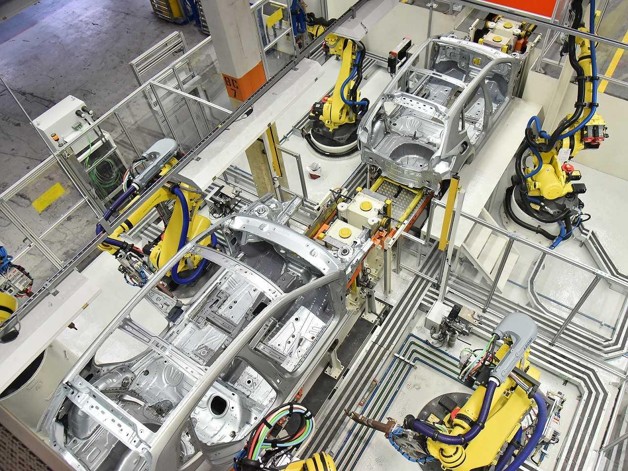 Produção do novo Polo na fábrica da VW em São Bernardo do Campo (SP)