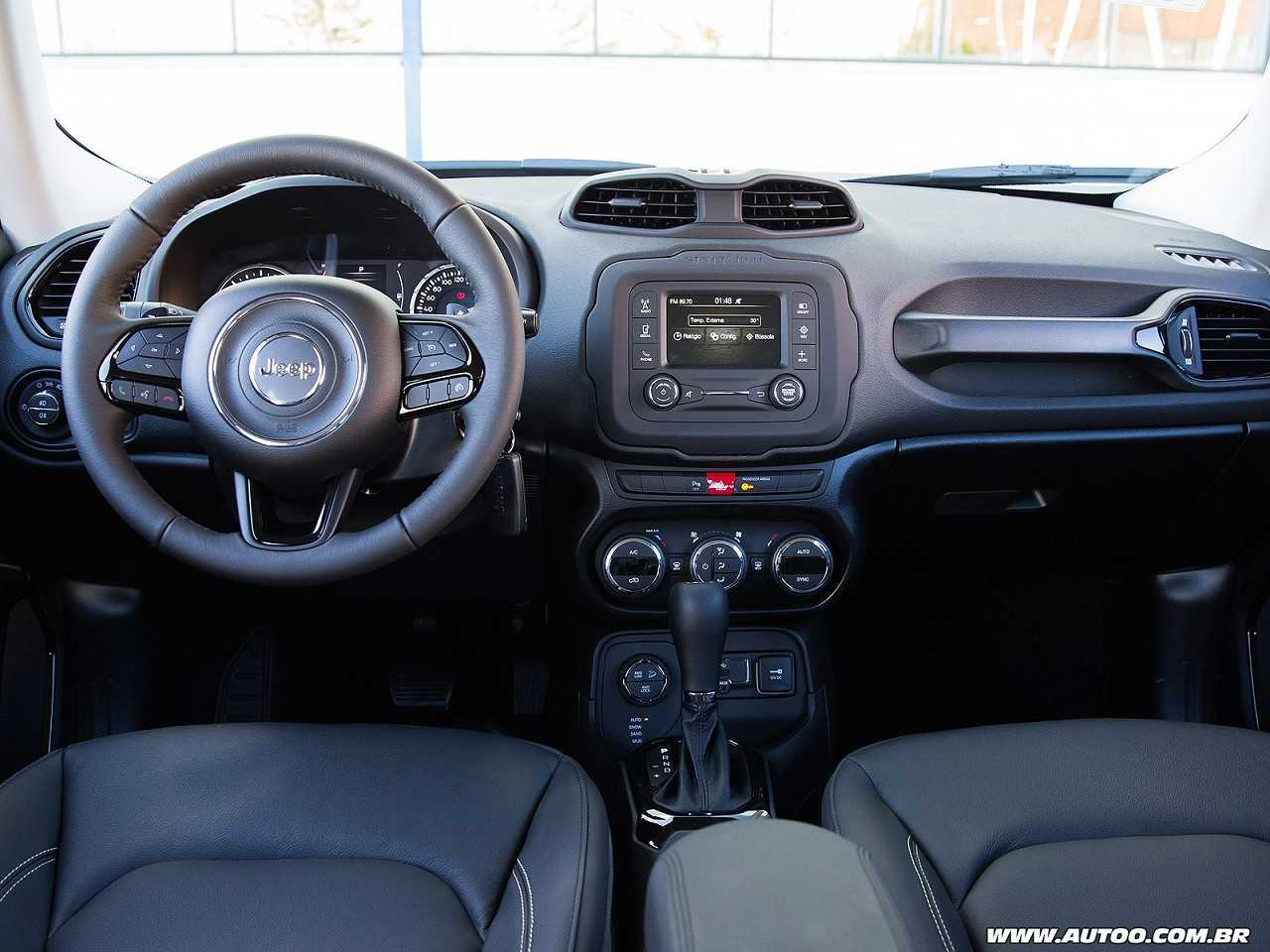 Jeep Renegade 2018 - painel