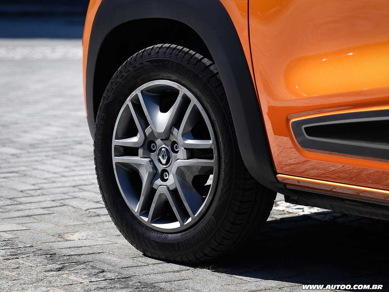 RenaultKwid 2018 - rodas