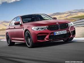 BMW M5 2018 chega à sexta geração e vai de 0 a 100 km/h em 3,4 s
