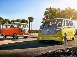 Kombi elétrica deve substituir minivans da VW