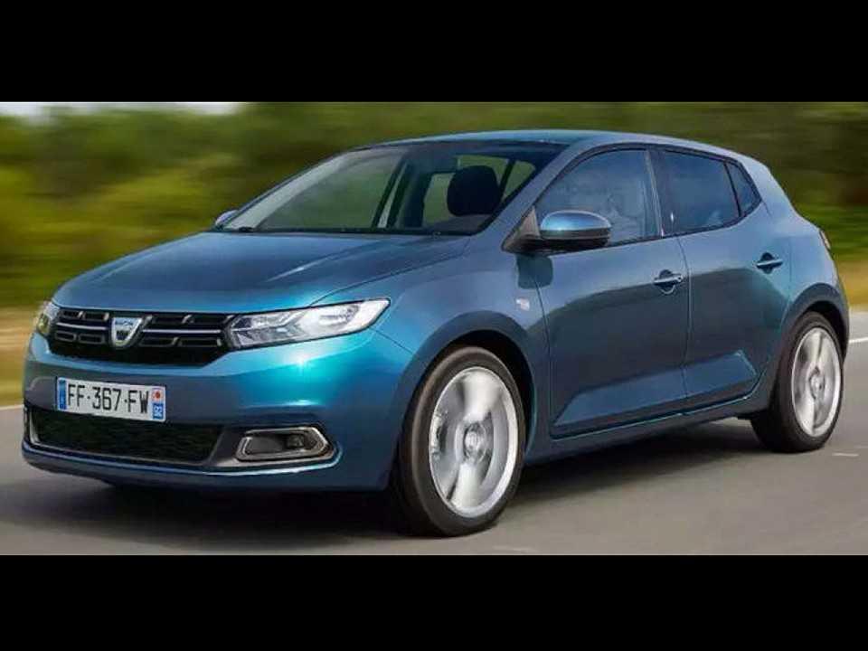 Terceira geração do Renault/Dacia Sandero em projeção da revista francesa Auto Plus