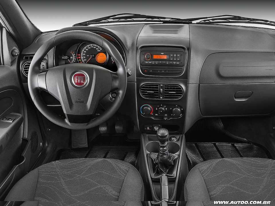 FiatStrada 2018 - painel