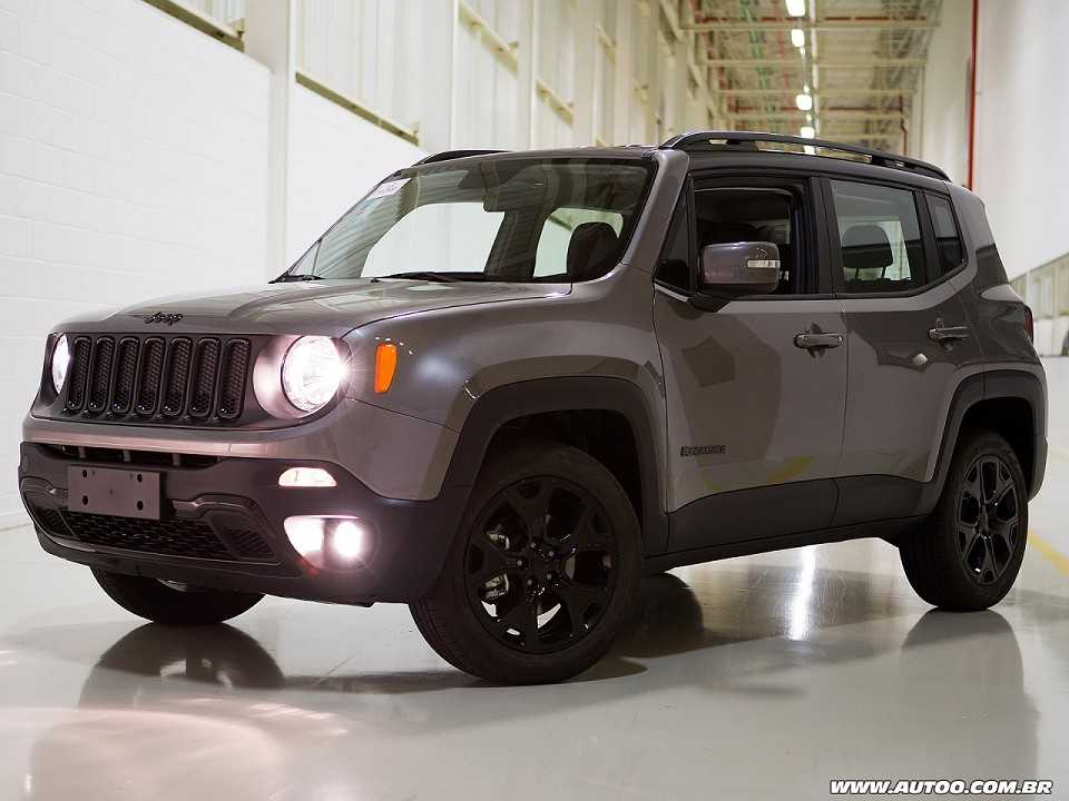 Jeep Renegade 2018 - ângulo frontal