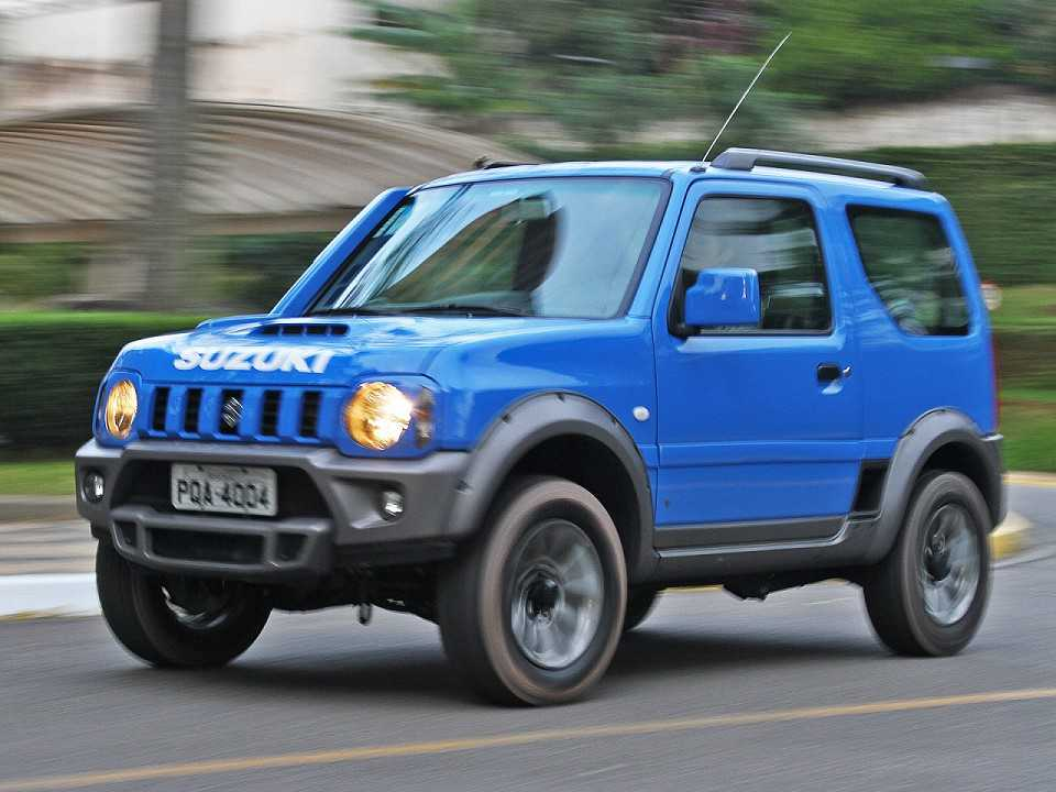 teste suzuki jimny 4sport 4x4 autoo. Black Bedroom Furniture Sets. Home Design Ideas