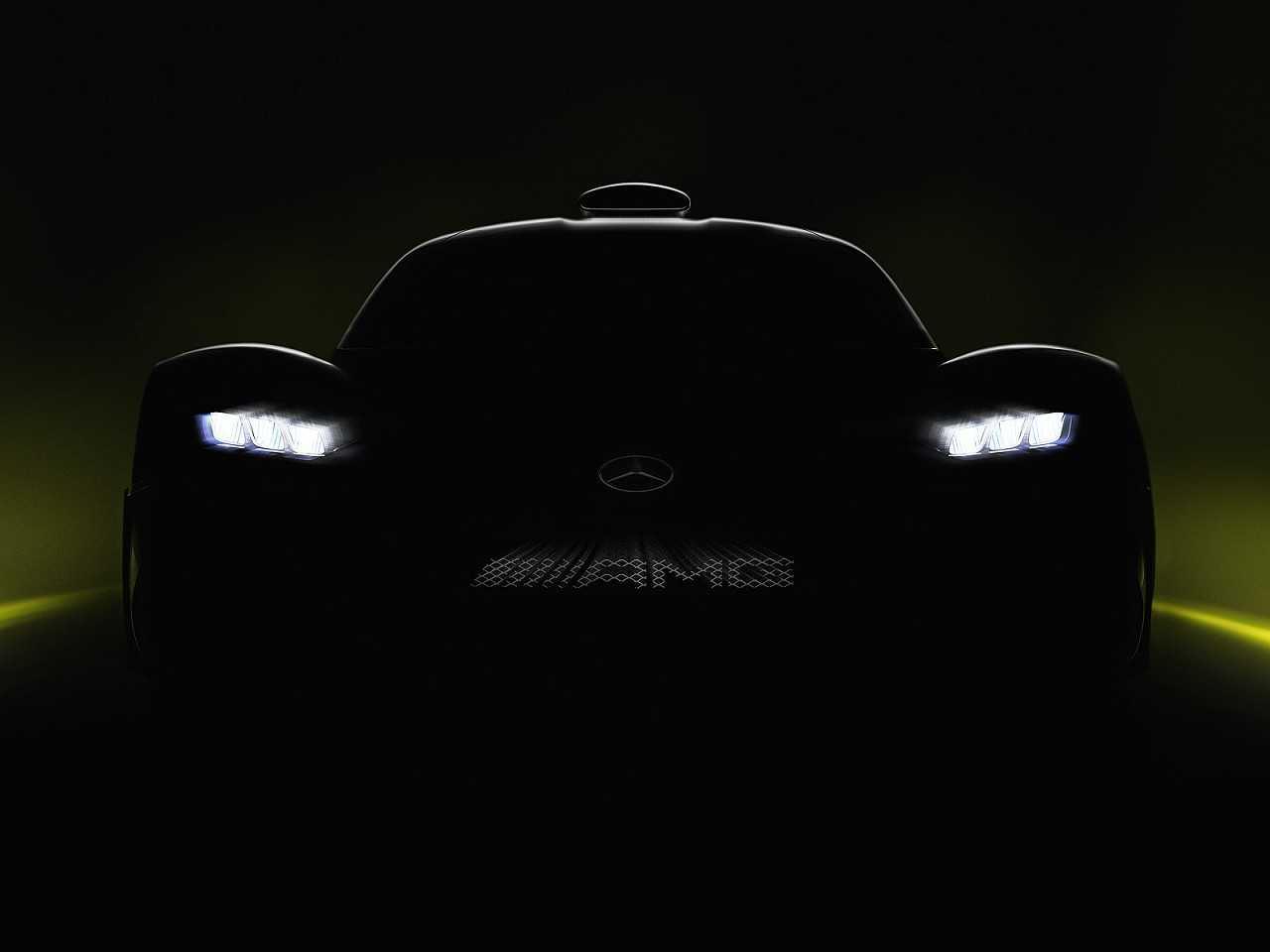 Primeiro teaser revelado pela Mercedes-AMG do seu aguardado Project One