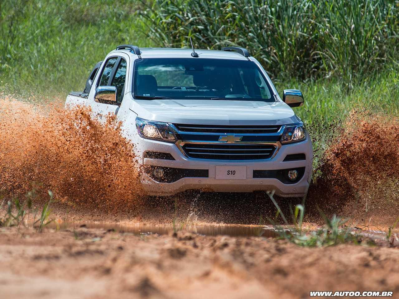 ChevroletS10 2018 - frente