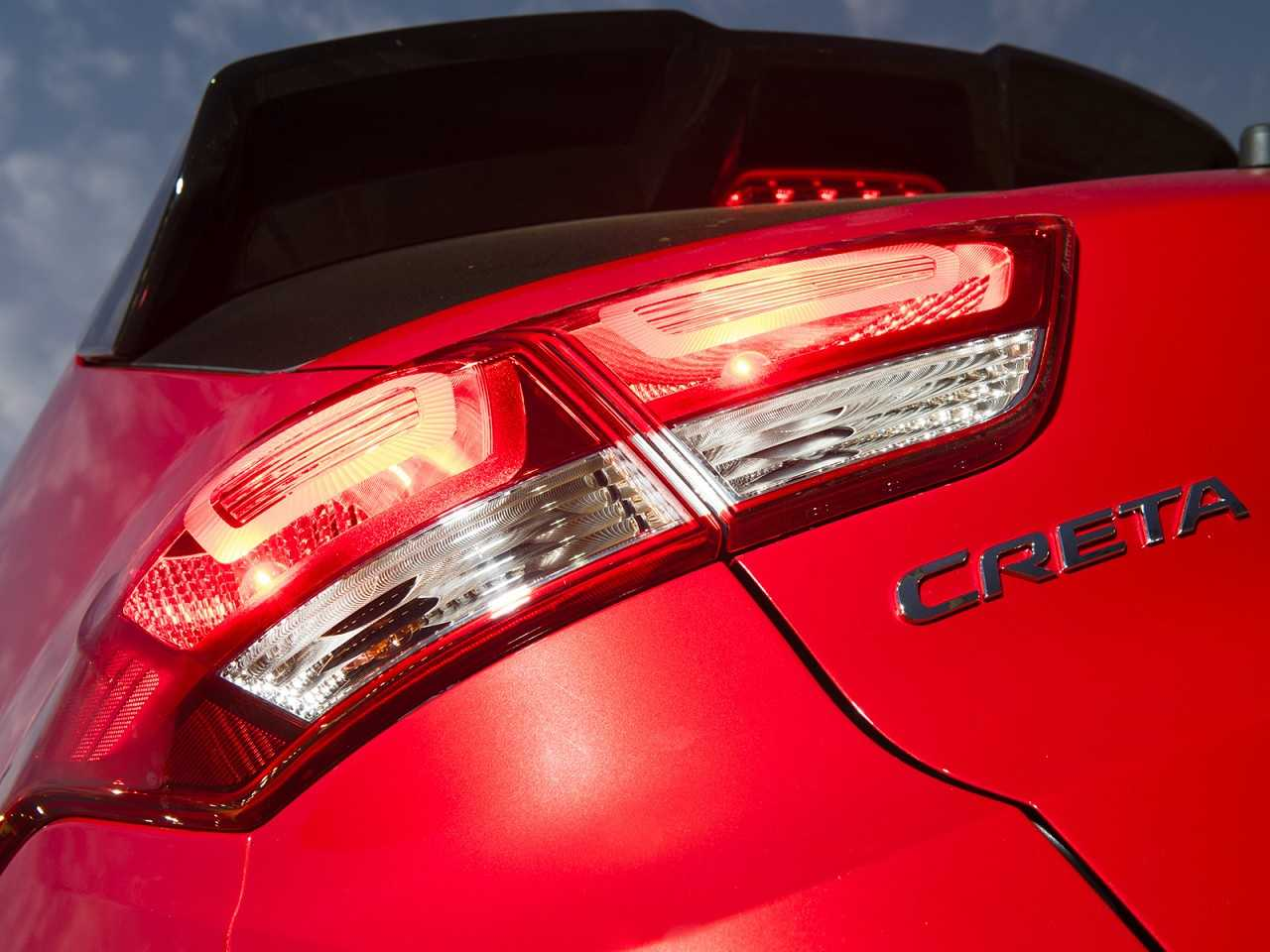 HyundaiCreta 2018 - lanternas