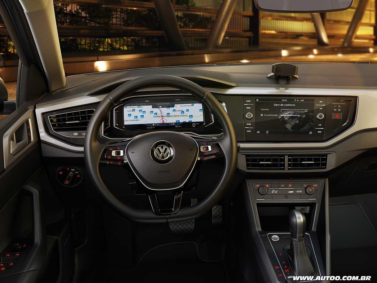 VolkswagenPolo 2018 - painel