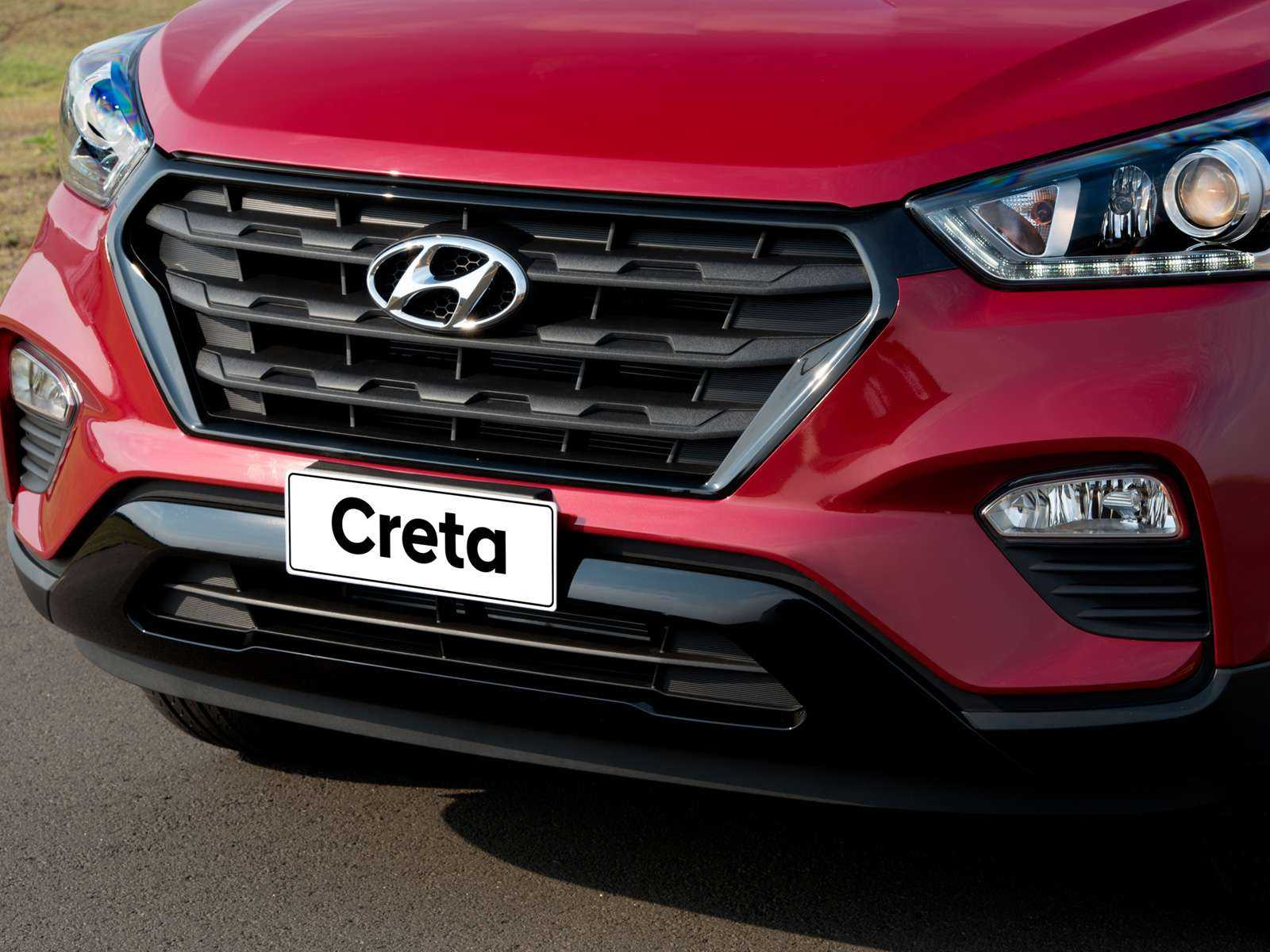 HyundaiCreta 2018 - grade frontal