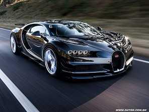 Bugatti já vendeu 300 unidades de seu superesportivo de R$ 10 milhões