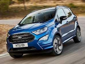 Ford EcoSport ganha versão esportiva e tração integral na Europa