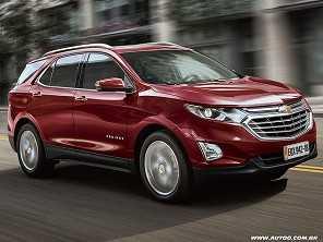 Chevrolet Equinox chega em outubro por R$ 149.900