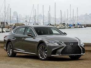 Nova geração do sedã de luxo Lexus LS virá ao Brasil em 2018