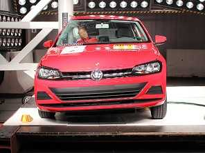 Corolla e Novo Polo conquistam cinco estrelas no Latin NCAP
