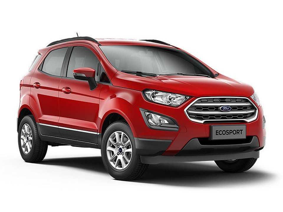 Acima o Ford EcoSport 2018 na versão SE 1.5 manual