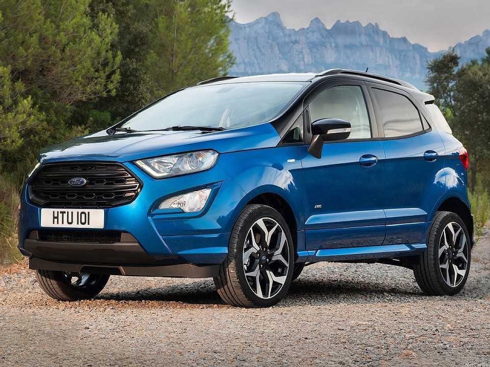 Ford EcoSport ST-Line oferecido na Europa