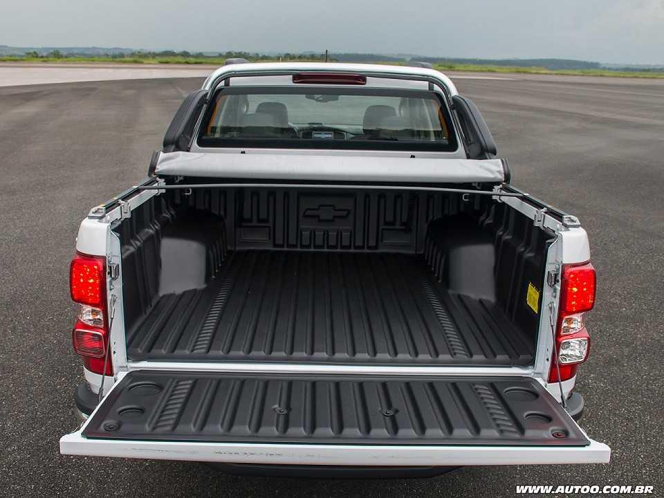 ChevroletS10 2018 - porta-malas