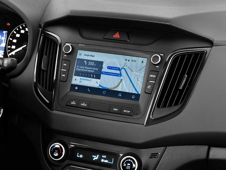 HyundaiCreta 2018 - console central