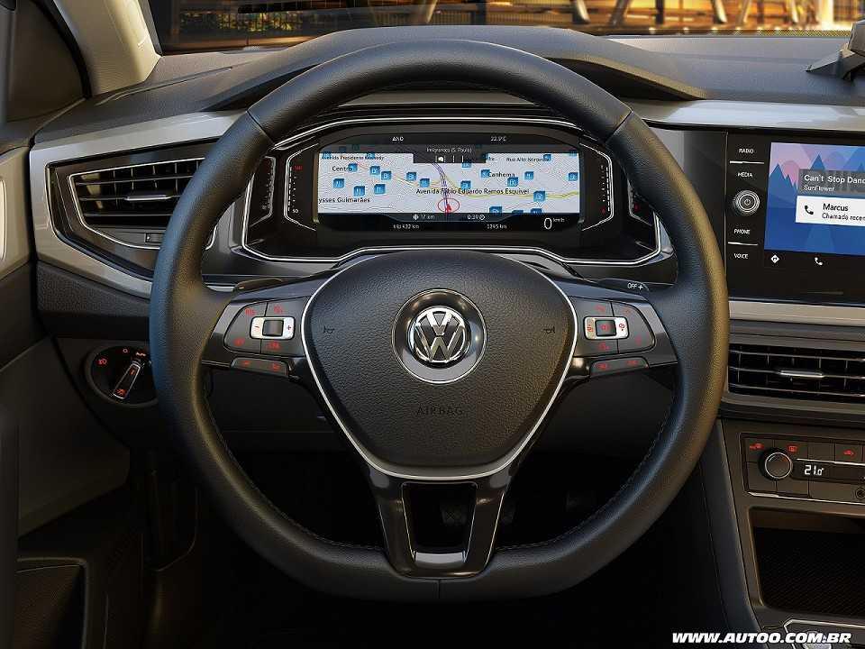 VolkswagenPolo 2018 - painel de instrumentos