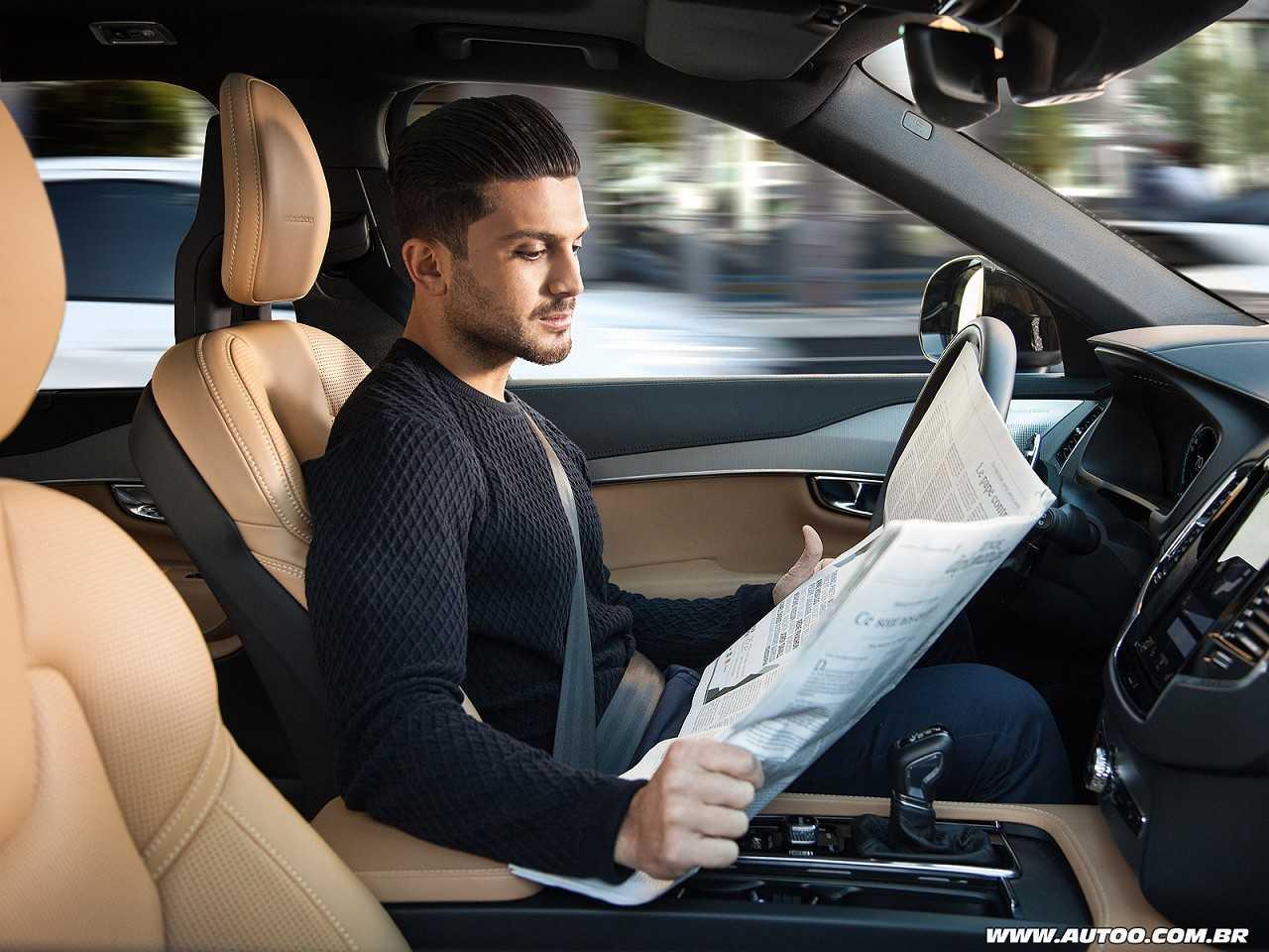 A bordo de um carro autônomo você poderá ter mais liberdade para realizar suas atividades preferidas