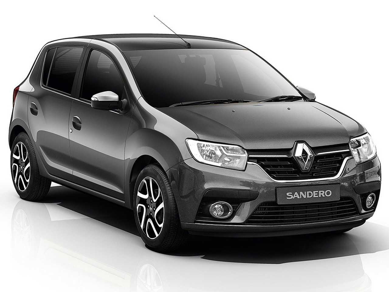 Projeção do designer Kleber Silva antecipando detalhes do novo Renault Sandero