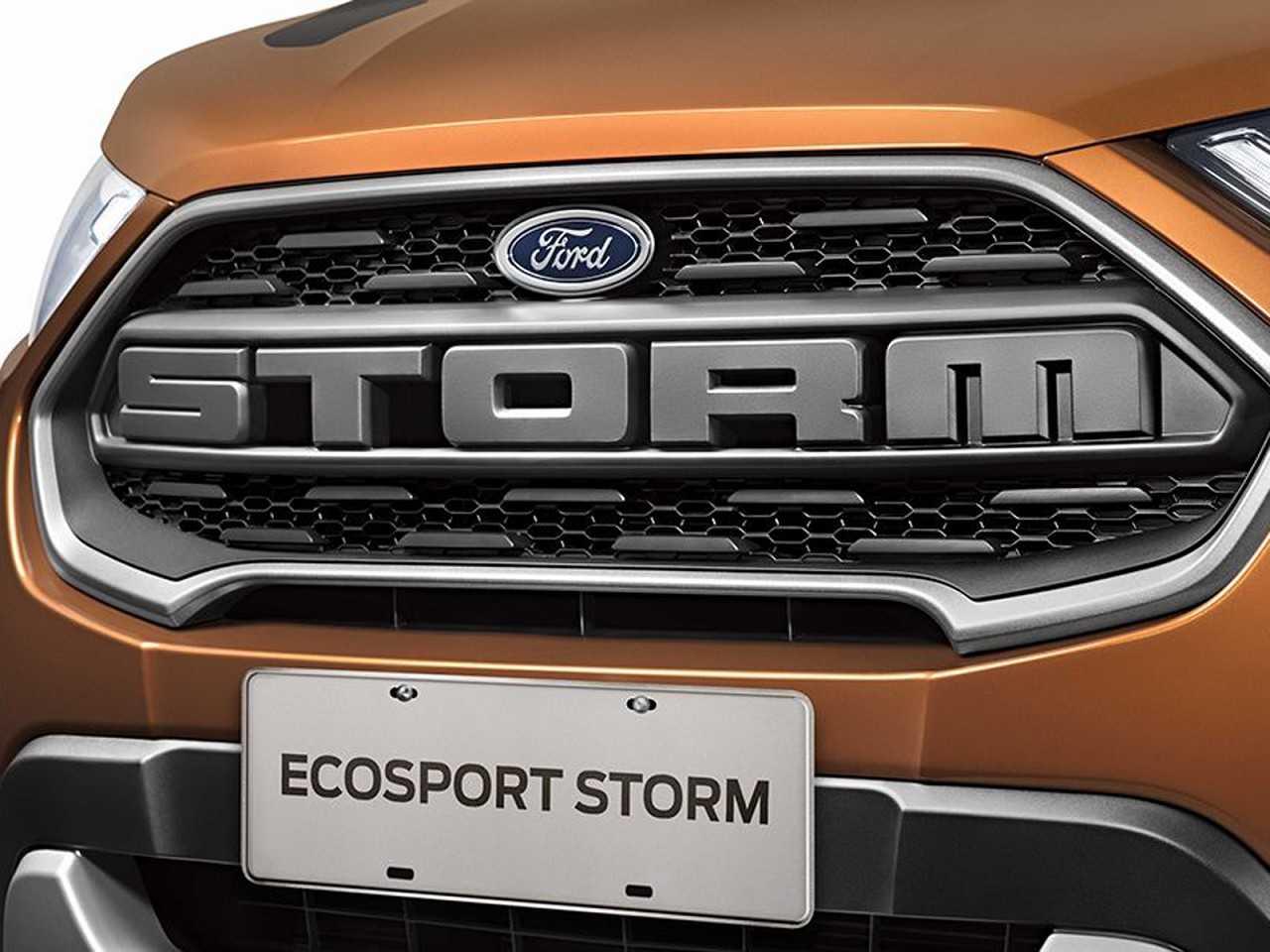 FordEcoSport 2019 - grade frontal