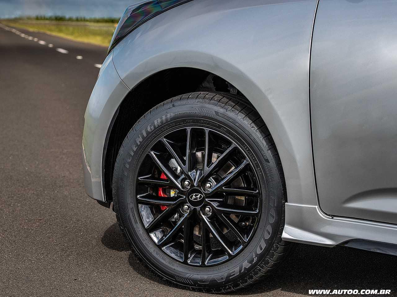 HyundaiHB20 2018 - rodas