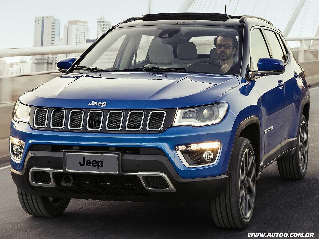 JeepCompass 2018 - ângulo frontal