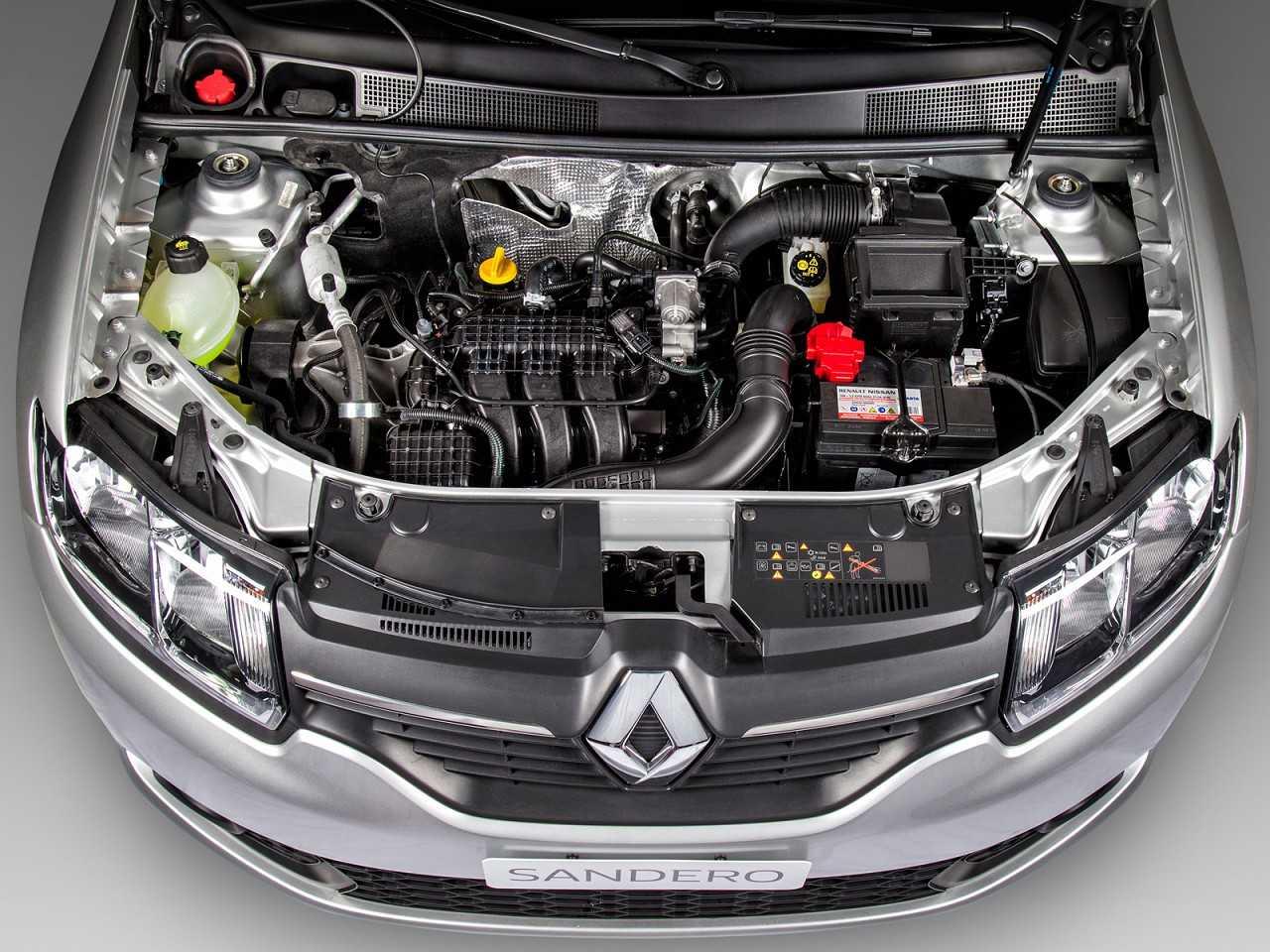 RenaultSandero 2018 - motor