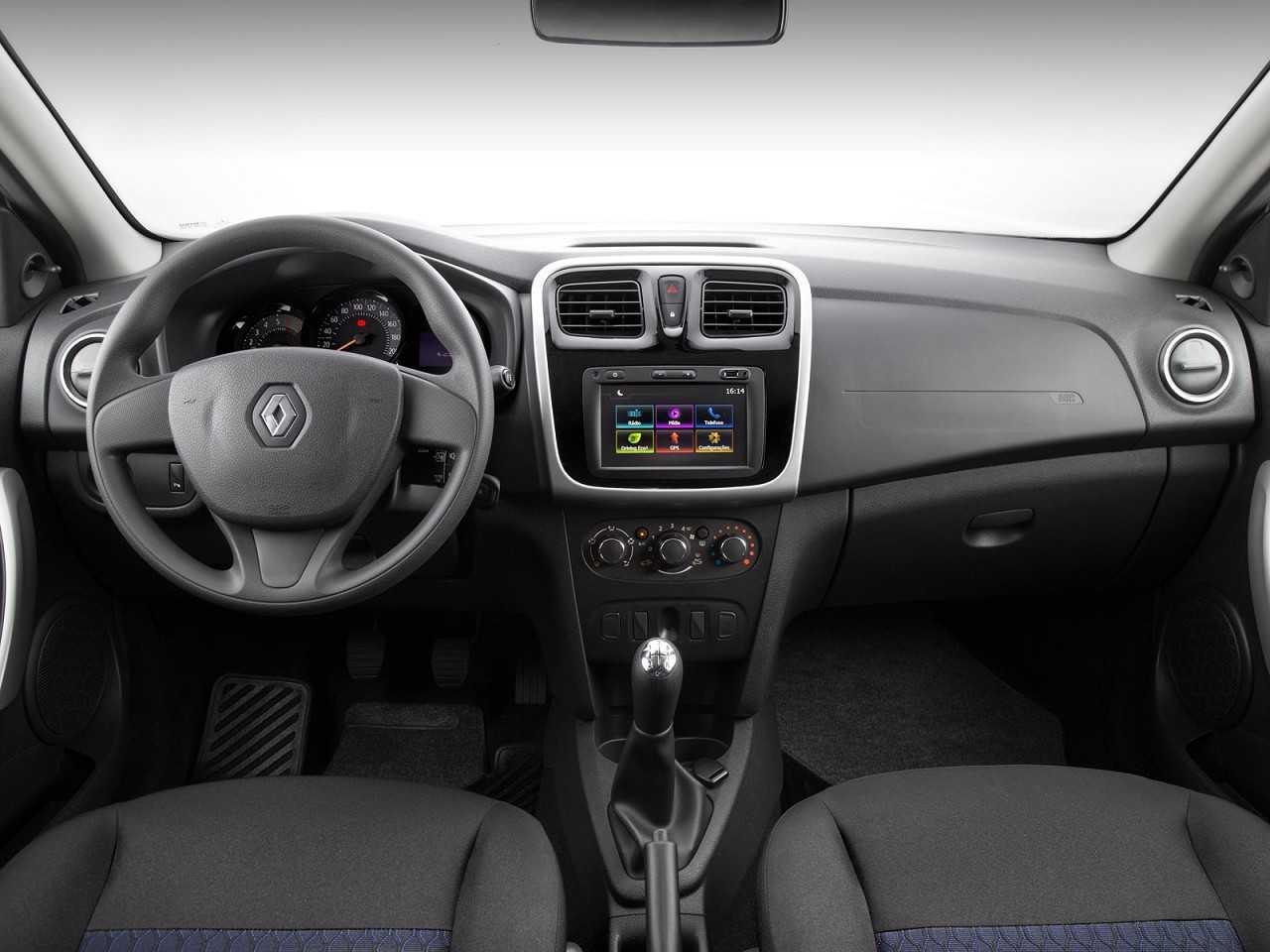 RenaultSandero 2018 - painel