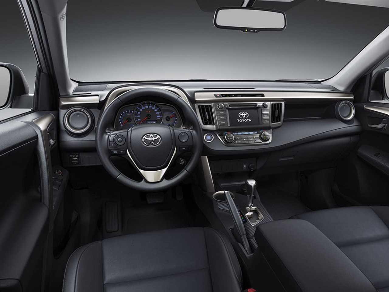 ToyotaRAV4 2018 - painel