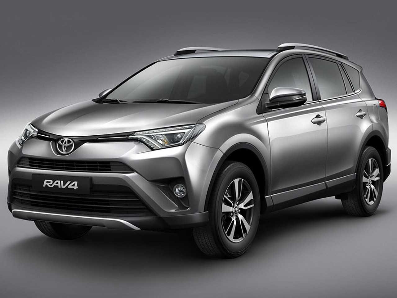 ToyotaRAV4 2018 - ângulo frontal