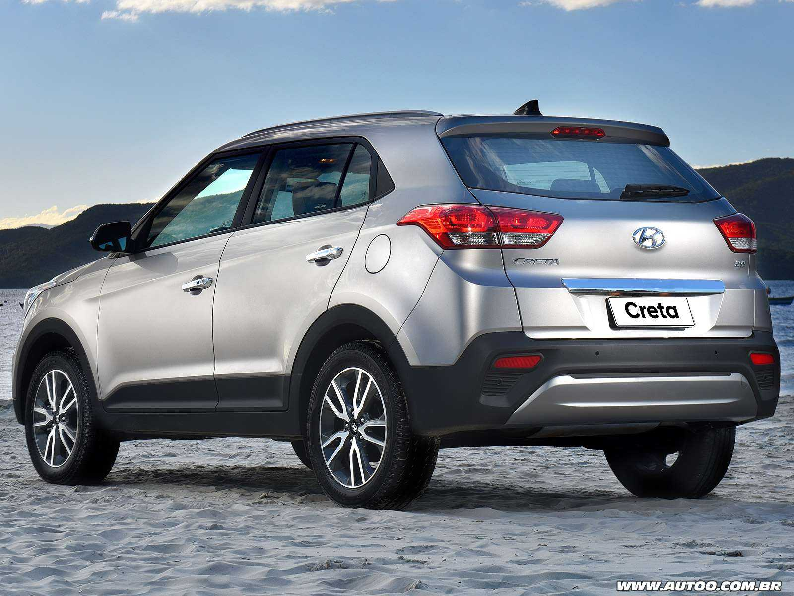 HyundaiCreta 2018 - ângulo traseiro