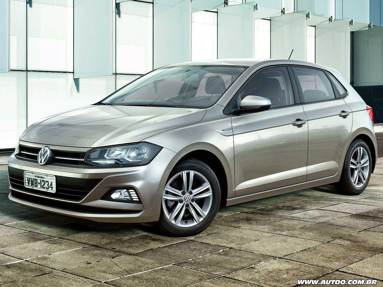 VolkswagenPolo 2018 - ângulo frontal