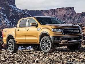 Ford mostra Ranger para os EUA e novo Edge 2019