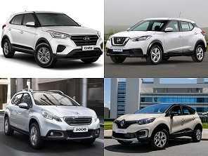 A difícil tarefa de escolher um SUV para a compra com isenção